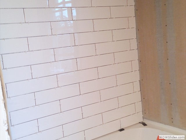 New subway tile