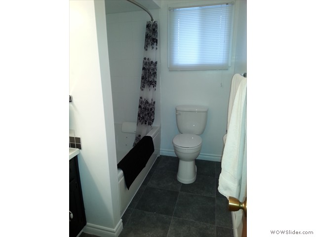 Finished with new toilet and flooring