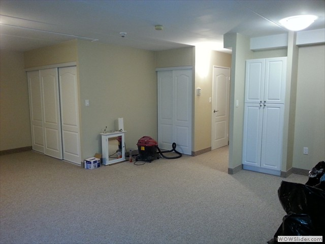New closets doors installed and all new carpets